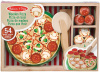 Melissa & Doug Pizza Party Wooden Play Food
